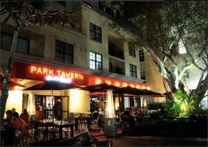 Park Tavern Delray Beach at Night