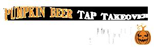 Pumpkin Beer Tap Takeover smaller type