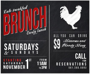 Brunch Park Tavern Delray Beach